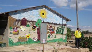 Inauguración de un gallinero en el centro de día Gregorio Ortiz de Pilar de la Horadada