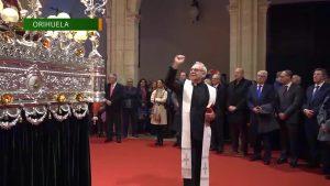 La Cofradía de El Perdón restaura el trono de su imagen titular con 90 años de historia