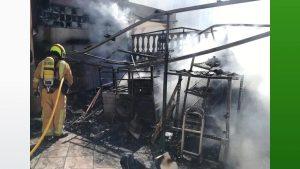 Suspendidas las clases en el colegio Dama de Guardamar tras incendiarse el despacho de la directora