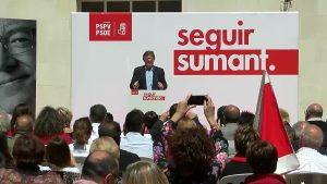 Puig promete en Orihuela mejorar la calidad del agua e invertir en agricultura