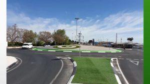 Obras Públicas finaliza la mejora de las obras de mejora de la seguridad vía en la CV-855 en Dolores