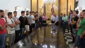 El Ayuntamiento de Orihuela recibe a sus campeones