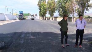Aparcamiento asfaltado y drenaje de la entrada principal: nuevas obras del polideportivo de Bigastro