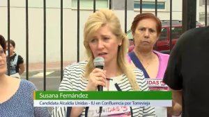 Esquerra Unida en Confluencia por Torrevieja acerca su programa a los vecinos del Acequión