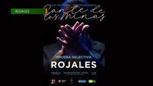 Rojales acoge por primera vez una prueba selectiva del Festival Internacional del Cante de las Minas