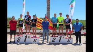 III Triatlón Escolar de la Comunidad Valenciana de Pilar de la Horadada en la Playa de las Higuerica