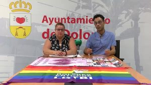 La comarca se une a la lucha por los derechos LGTBI