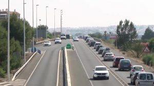 Atropello mortal en una de las salidas de la N-332 a su paso por Torrevieja
