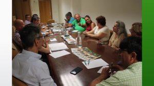 Acuerdos y visitas en materia de agua y sector agroalimentario