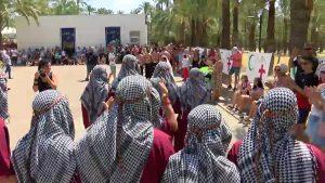 Los alumnos del Centro ocupacional Oriol celebran sus fiestas de Moros y Cristianos