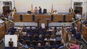 Constituida la Diputación de Alicante que preside Carlos Mazón y con 7 diputados de la Vega Baja