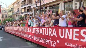 Un centenar de personas apoyan la candidatura de Orihuela a Ciudad Creativa