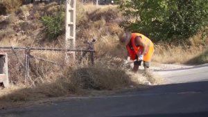 El riesgo «extremo» de incendio forestal pone en alerta a la comarca