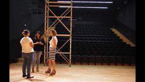 El Auditorio de San Bartolomé estrenará telón motorizado
