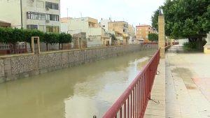 Las lluvias dejan más de 100 litros por metro cuadrado en la Vega Baja