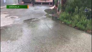 Los vecinos de la pedanía oriolana de El Arenal denuncian serios problemas con el alcantarillado
