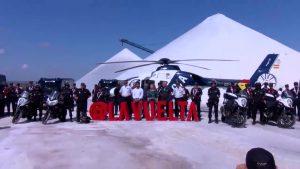 Los ciclistas de la Vuelta saldrán desde el interior de una montaña de sal en Torrevieja