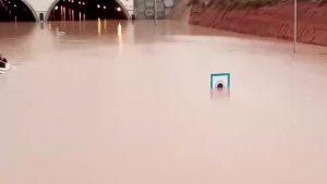 Pilar de la Horadada registró 366,3 litros por metro cuadrado acumulados