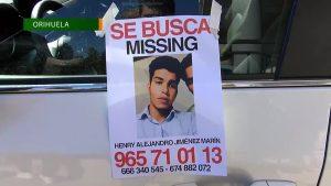 Concentración en Orihuela cuando se cumple un año de la desaparición de Henry Alejandro