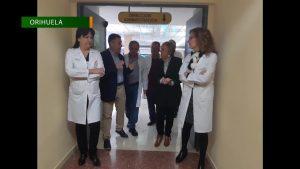 La consellera de Sanidad visita Orihuela y Dolores en el último día del año