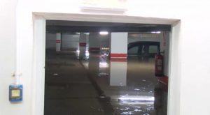 Torrevieja: una tromba de agua deja hasta 100 litros por metro cuadrado en una sola noche