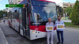 Orihuela promueve el transporte público gratuito de autobús durante la próxima semana