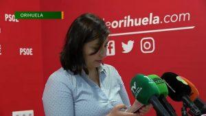 El PSOE pide que el gobierno explique la hoja de ruta para que Orihuela recupere la normalidad