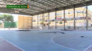Formentera del Segura remodela su Polideportivo Municipal