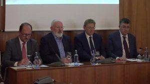 Europa se compromete a agilizar las ayudas para paliar las consecuencias de la gota fría