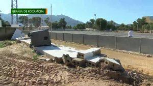 El Polideportivo Municipal «La Palmera» de Granja de Rocamora continúa cerrado y sin actividad