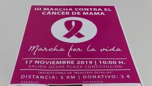 Almoradí acogerá la tercera marcha contra el cáncer de mama el próximo 17 de noviembre