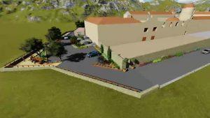 Empiezan las obras del proyecto del mirador del Seminario de Orihuela y el Monte de San Miguel