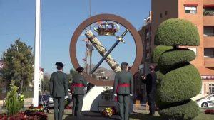 Orihuela dedica una escultura a la Guardia Civil en homenaje a sus 175 años de servicio
