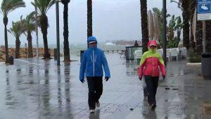 Lluvias, viento y un fuerte temporal marítimo para empezar diciembre
