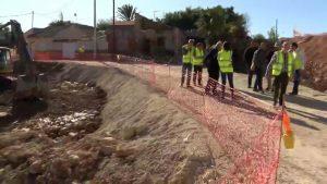 Supervisión de las obras en las infraestructuras de regadío dañadas por la DANA