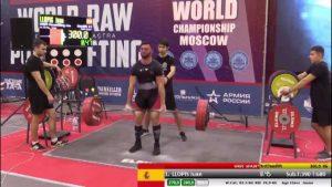 Dolores tiene un campeón mundial de Powerlifting