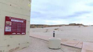 Guardamar ya luce su fortificación renovada