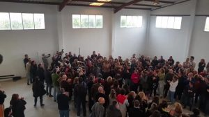 Más de 400 voluntarios acondicionan la vivienda que albergará temporalmente el Centro Oriol