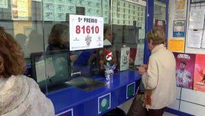 Vendido en Guardamar un quinto premio en la Lotería de Navidad de más de 2 millones de euros