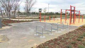 Agua regenerada de la depuradora en el Polideportivo Municipal de San Fulgencio