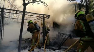Los bomberos cierran 2019 con 10.618 intervenciones: más de 3.000 fueron en la Vega Baja por la DANA