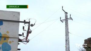 10.000 personas se quedaron sin suministro eléctrico el lunes en Orihuela tras el paso de «Gloria»
