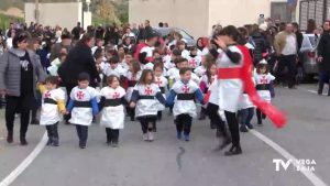Medio Año Festero en el colegio de Hurchillo