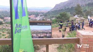 Reforestación en el Monte San Miguel de Orihuela
