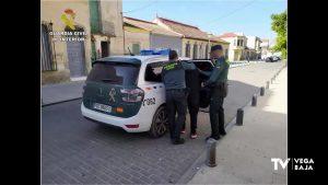 La Guardia Civil de Jacarilla detiene en Bigastro a un hombre con 7,5 gramos de hachís