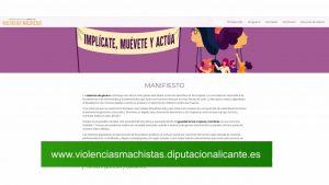 La Diputación impulsa una campaña contra violencias machistas a través de una plataforma on line