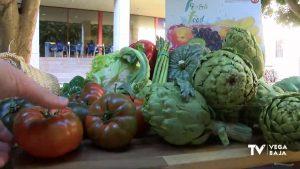 Jornadas de gastronomía ecológica en el colegio de Hurchillo