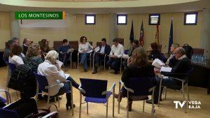 Grupos de trabajo en la comarca con el grupo socialista de la Diputación