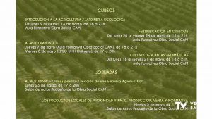Orihuela pone en marcha el Plan de Formación Agroalimentaria