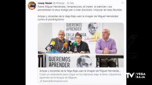 Un «tuit» del diputado Josep Nadal ofende a la Plataforma de Docentes por la Libertad Lingüística